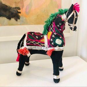 Beautiful vintage handmade Indian Rajasthani horse
